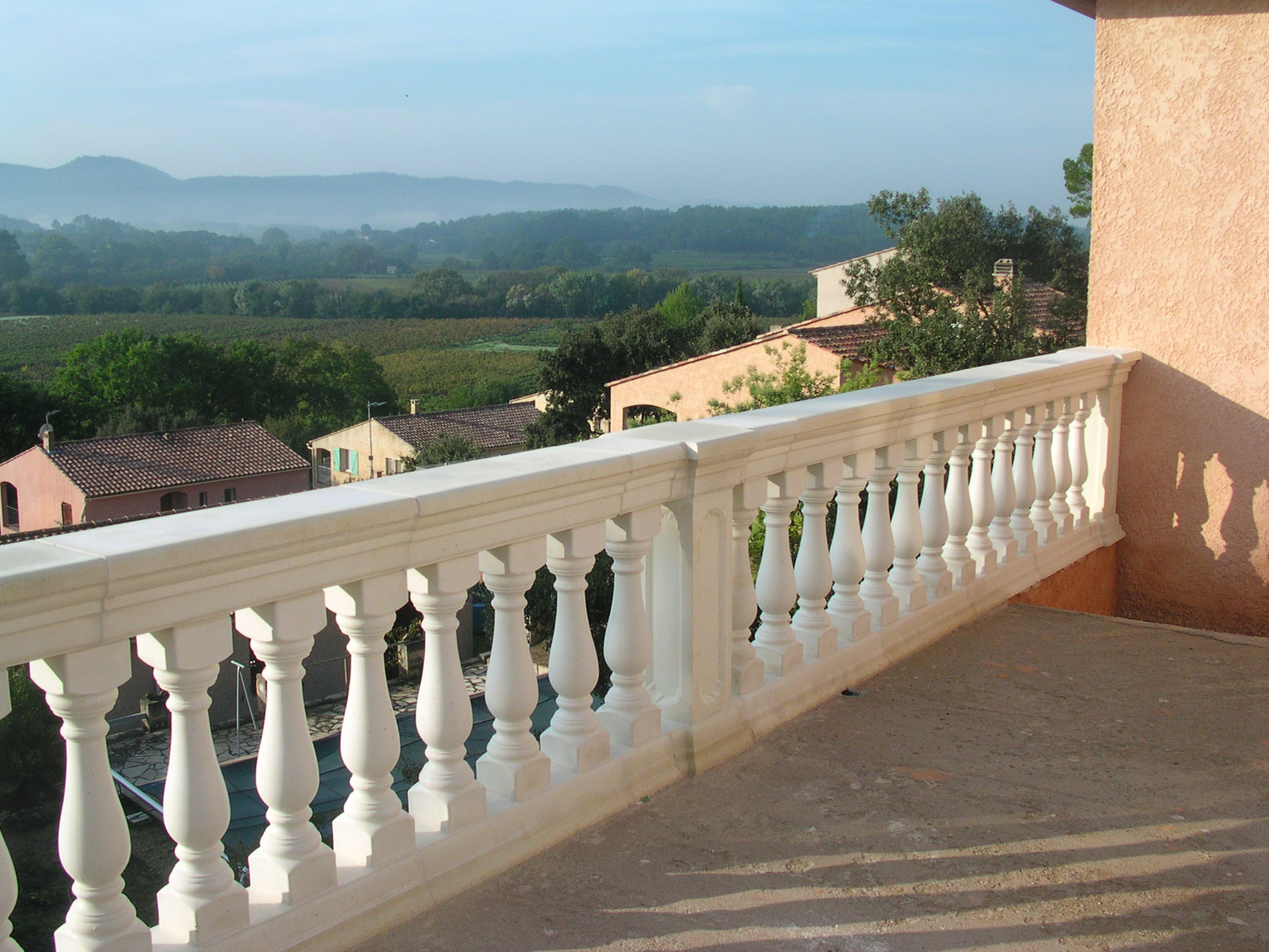 awesome balustrade terrasse beton photos. Black Bedroom Furniture Sets. Home Design Ideas
